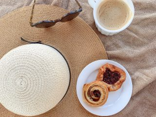 Pastries and coffee at Sandals Montego Bay
